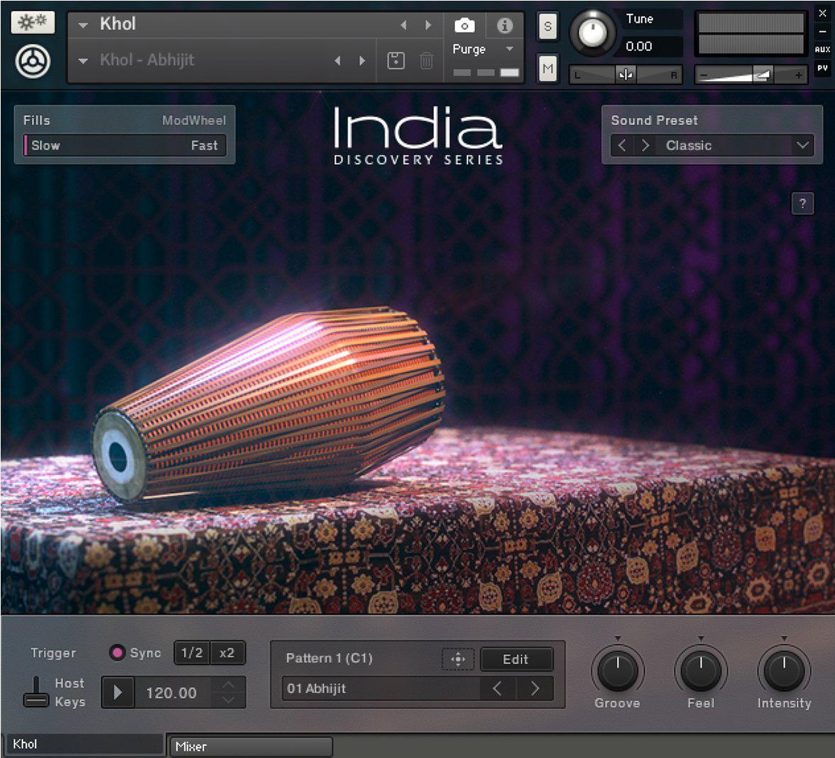 photo native instruments india india 1317708 audiofanzine. Black Bedroom Furniture Sets. Home Design Ideas