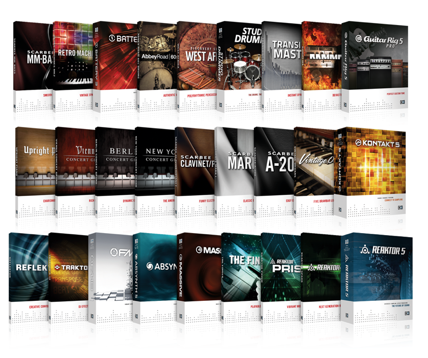 Native Instruments Komplete 8 Free