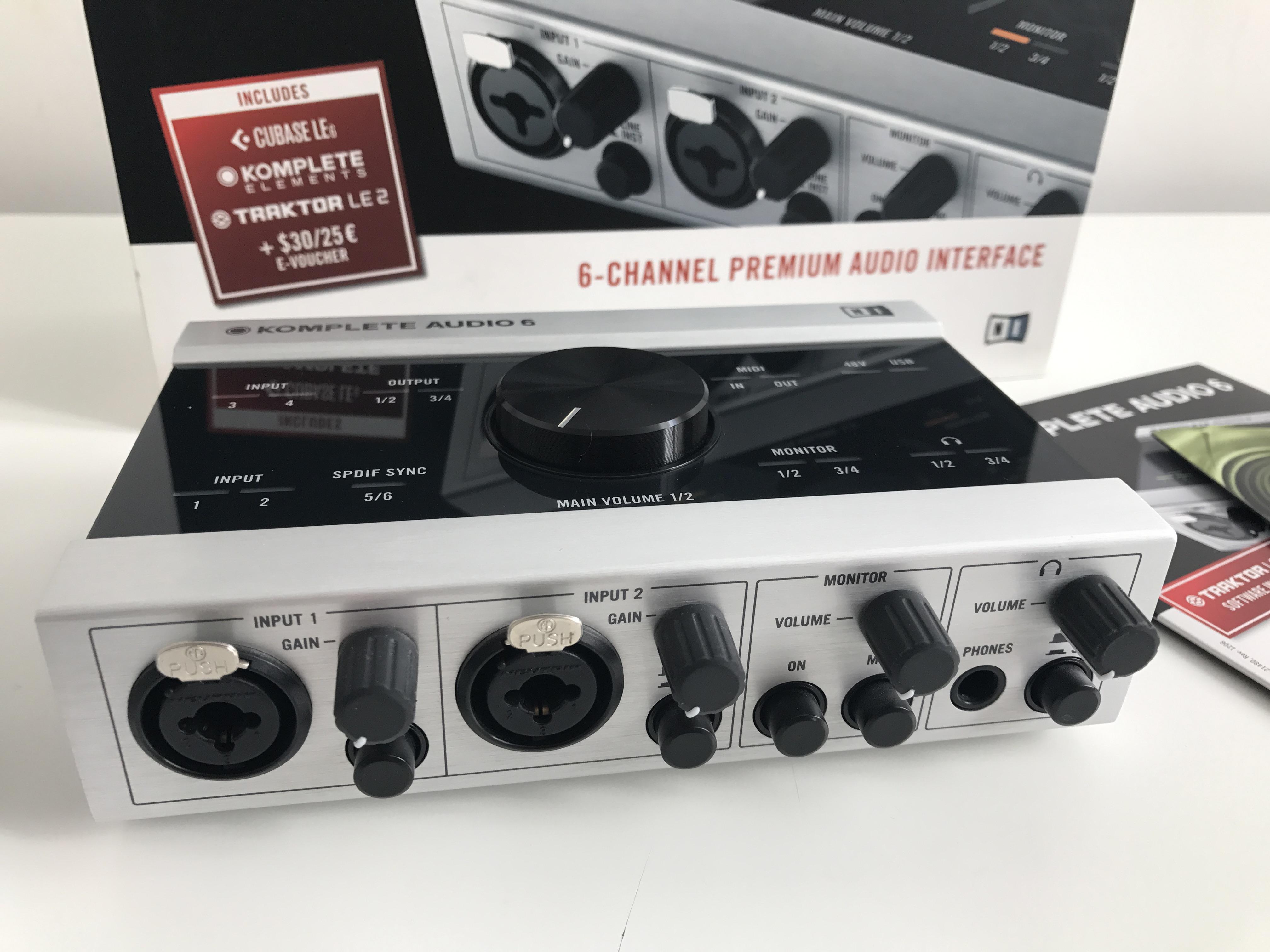 native instruments komplete audio 6 image 1745444 audiofanzine. Black Bedroom Furniture Sets. Home Design Ideas