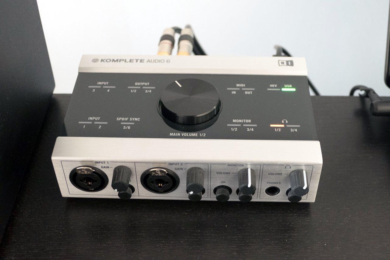 native instruments komplete audio 6 image 2079033 audiofanzine. Black Bedroom Furniture Sets. Home Design Ideas