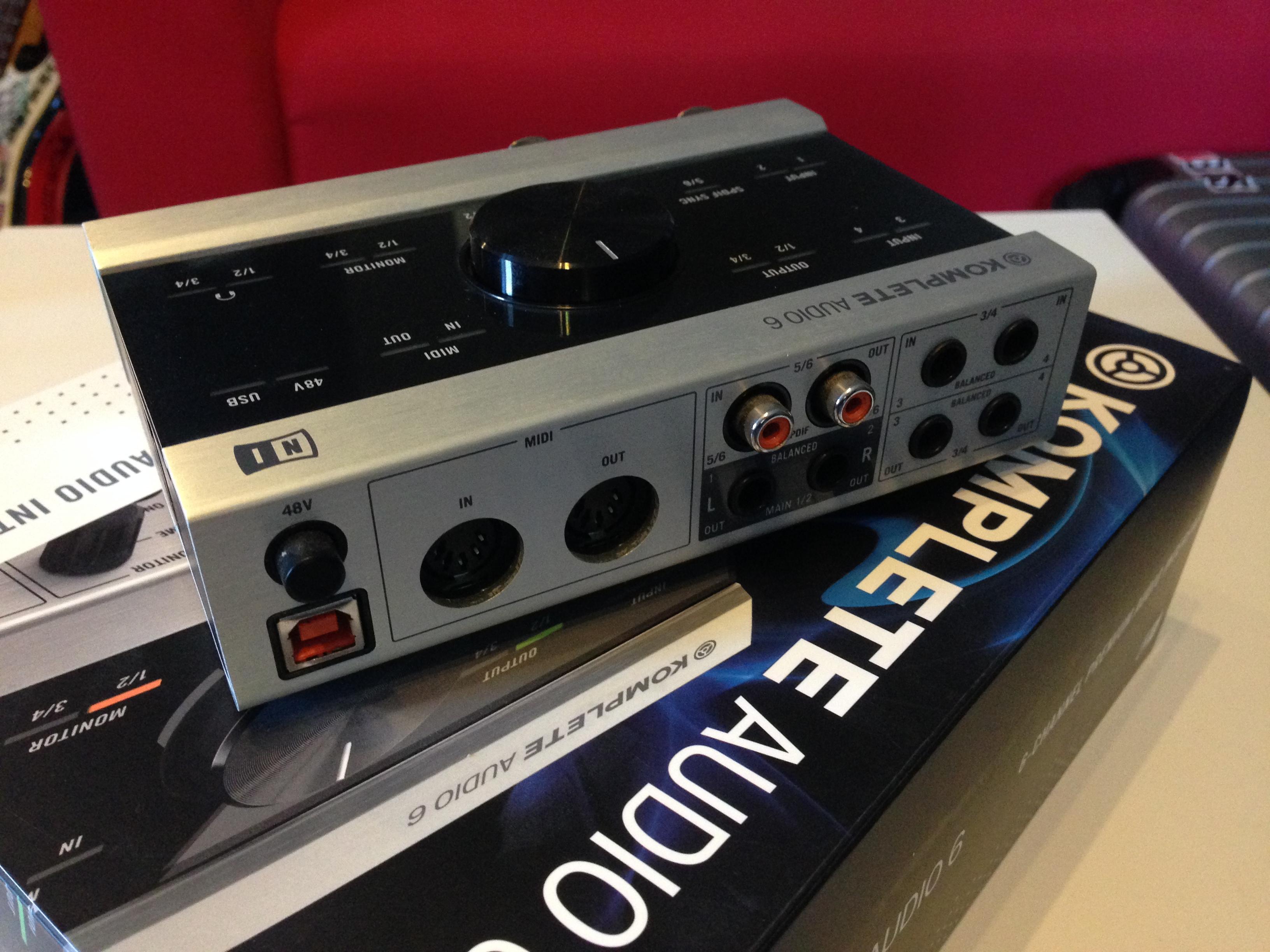 native instruments komplete audio 6 image 852727 audiofanzine. Black Bedroom Furniture Sets. Home Design Ideas