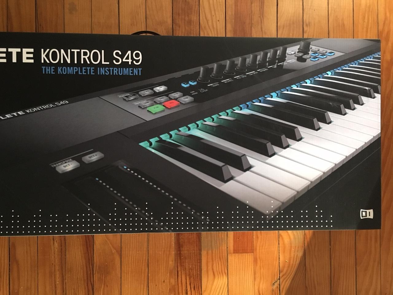 native instruments komplete kontrol s49 image 2059498 audiofanzine. Black Bedroom Furniture Sets. Home Design Ideas
