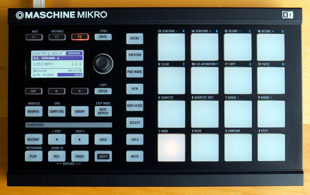Native instruments maschine mikro review