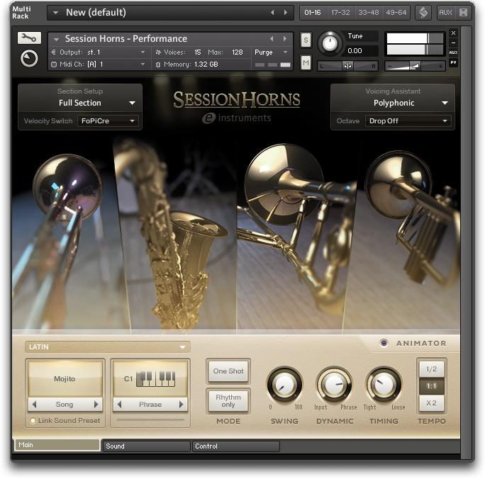 Test du Native Instruments Session Horns : Bien faire les cuivres ...