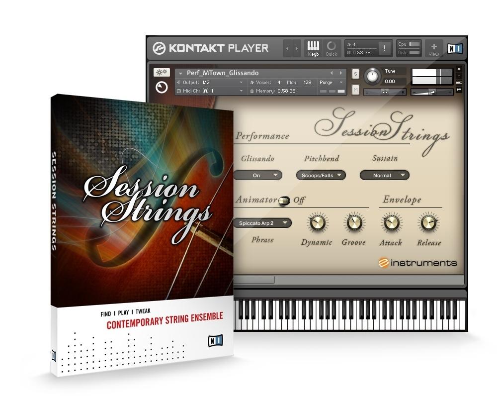 Download Native Instruments Session Strings Pro v1.3 KONTAKT UPDATE ...