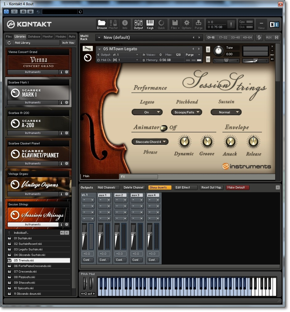 Native Instruments Session Strings Review : Native Adds Another String ...