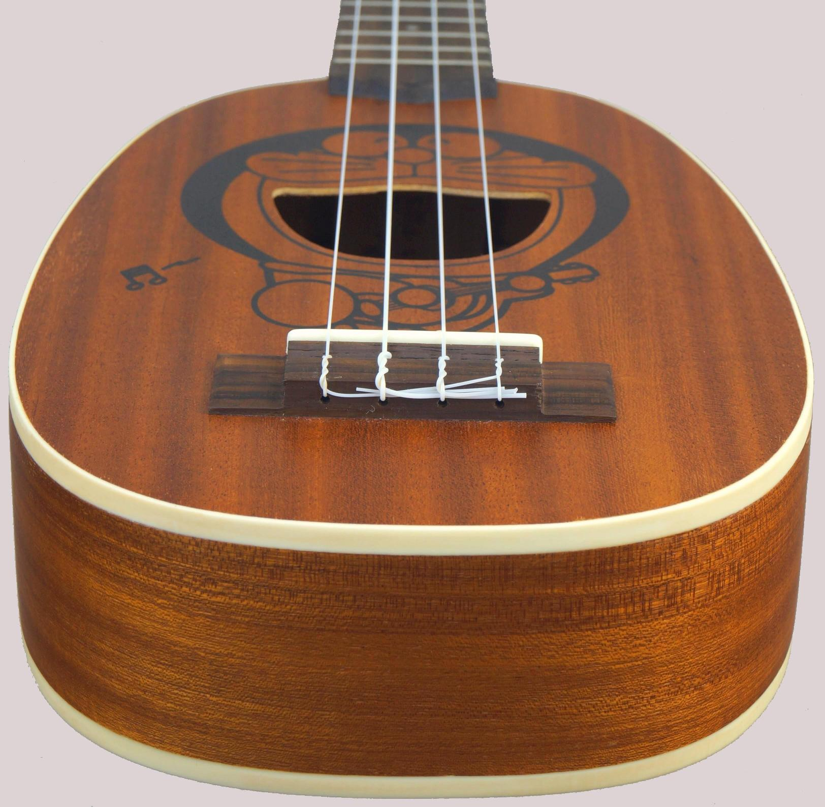 laminate pineapple soprano ukelele back