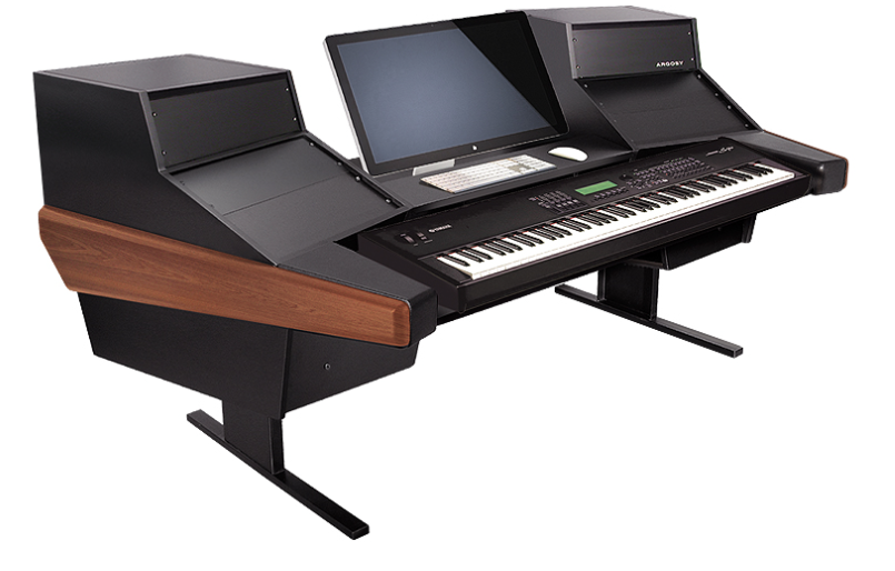 Meuble de studio argosy dual 15 workstation ile de france for Meuble bureau home studio