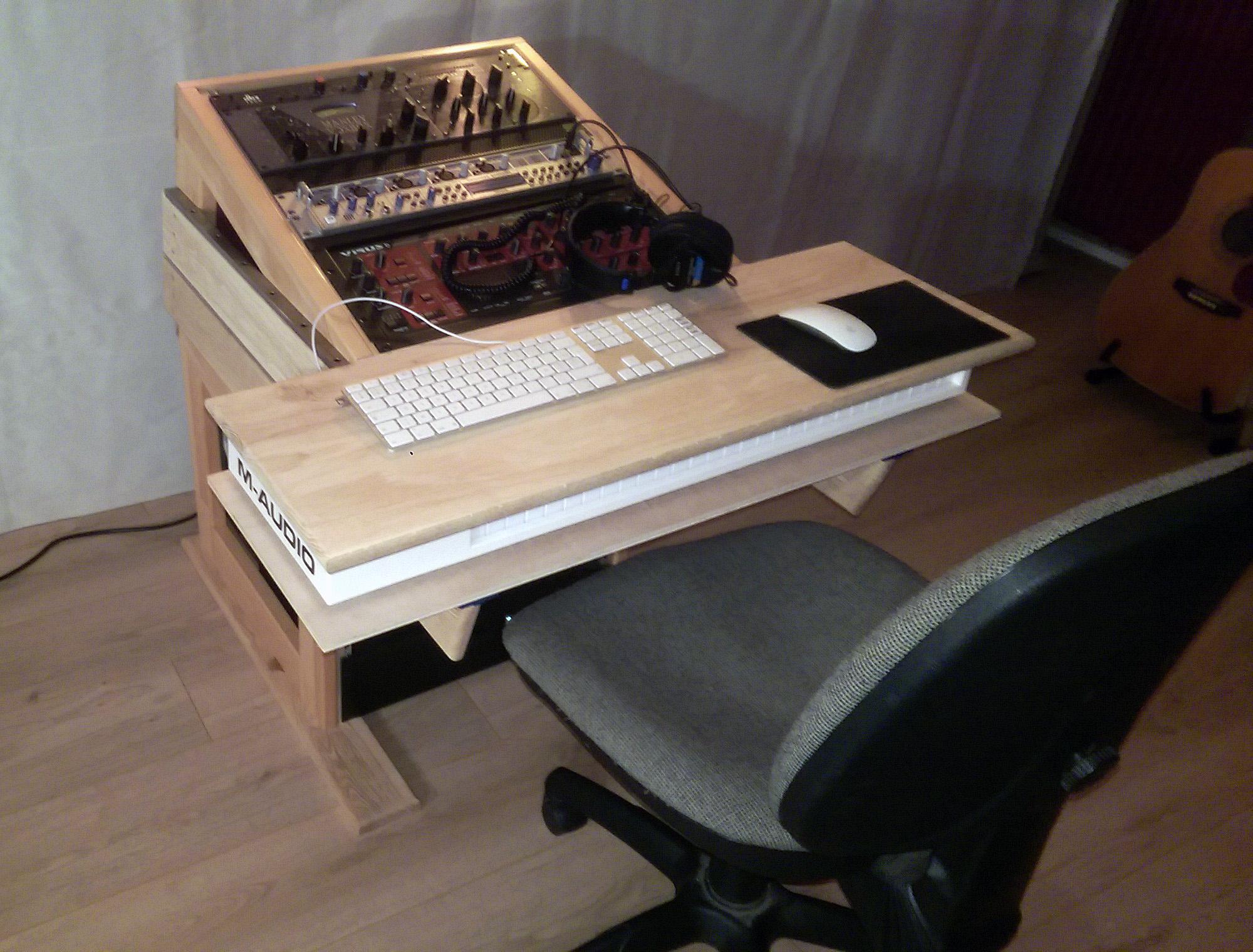 Bureau pour studio mixage mastering compo nord pas de calais
