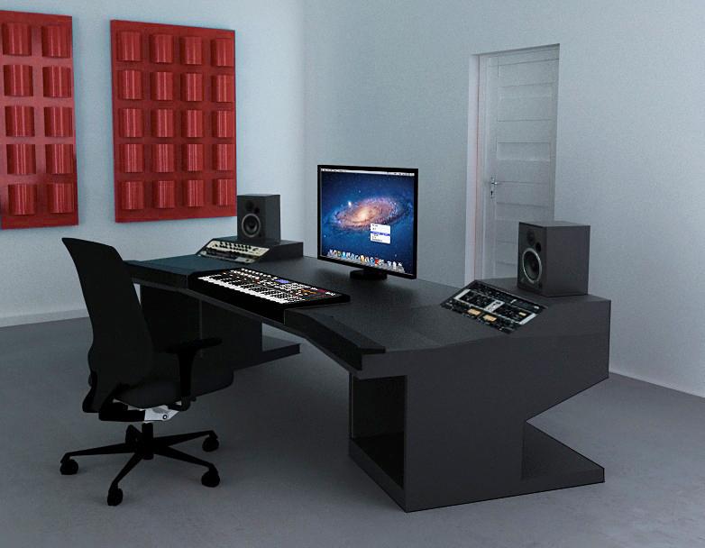photo no name meuble studio pour console de mixage maison meuble studio pour console de mixage. Black Bedroom Furniture Sets. Home Design Ideas
