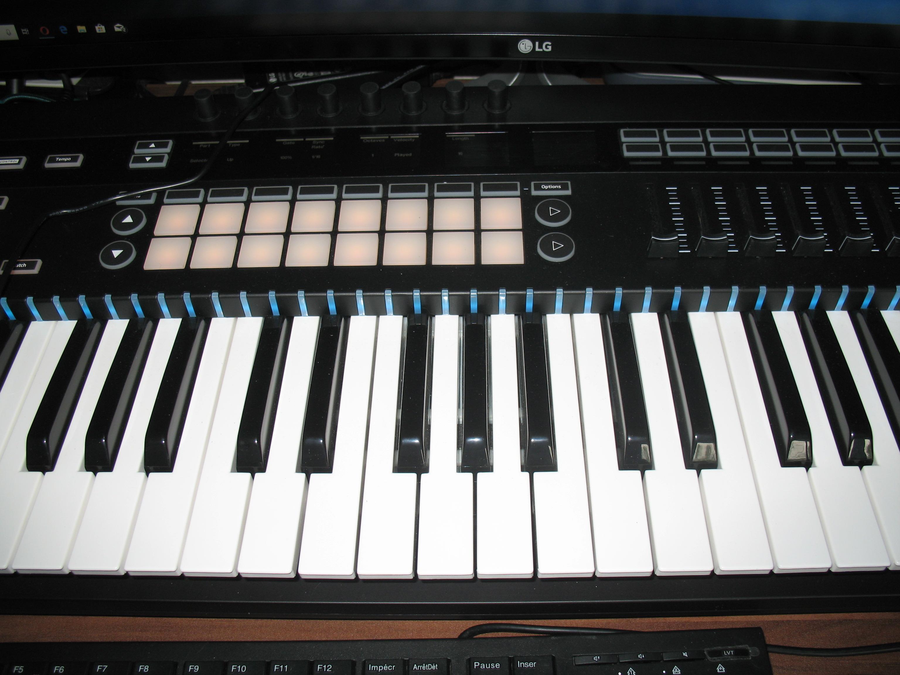 Novation 49 SL MkIII - Audiofanzine