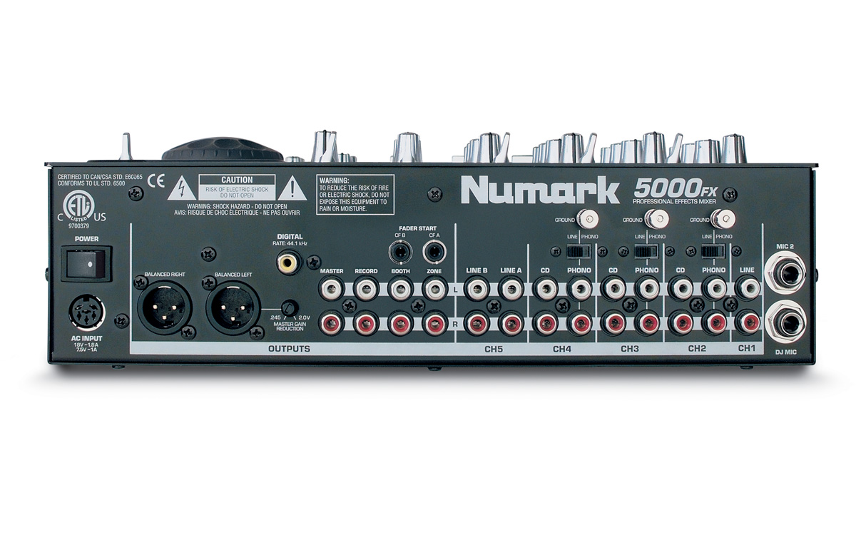 table de mixage numark 5000
