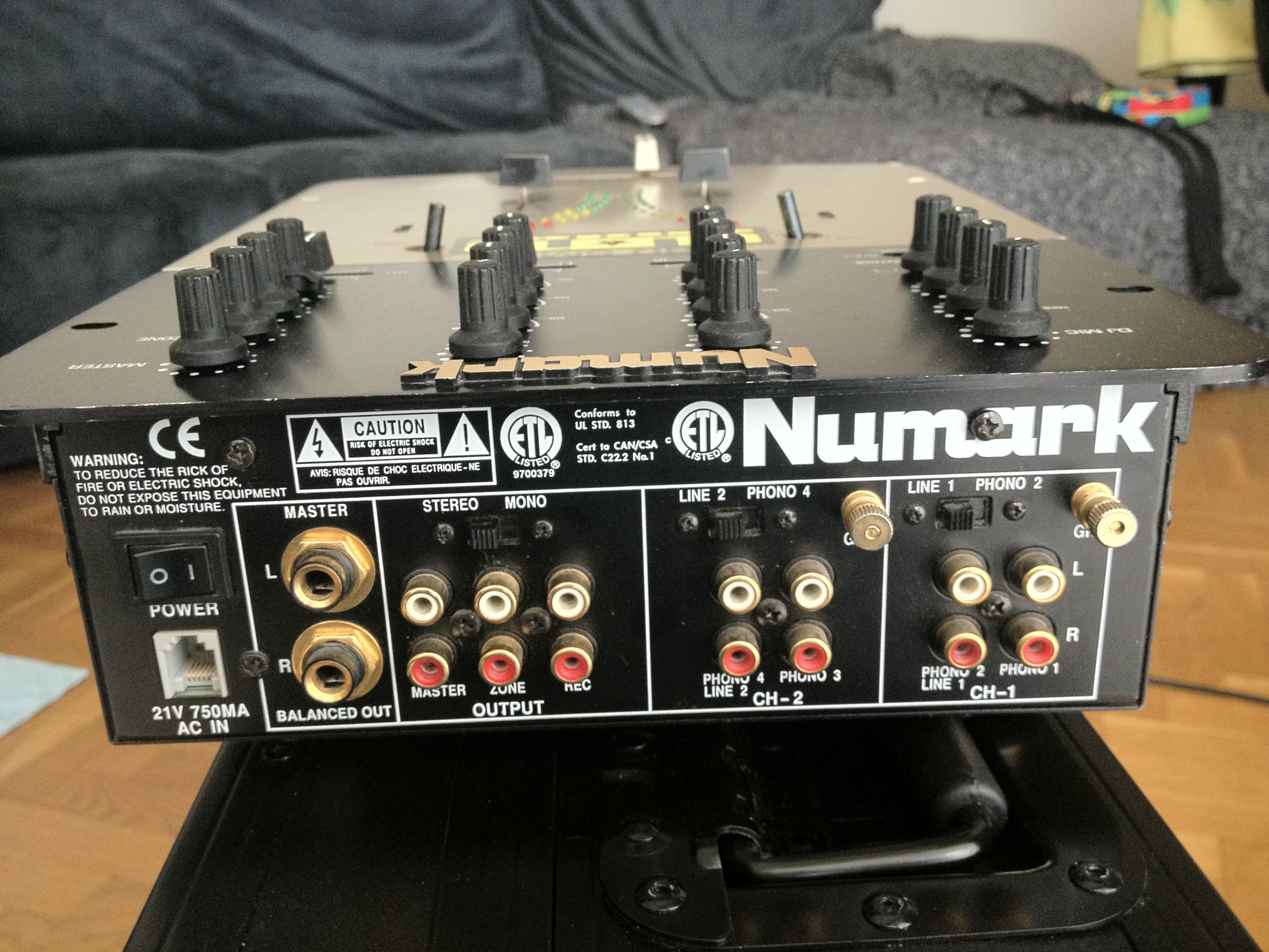 table de mixage numark pro sm1
