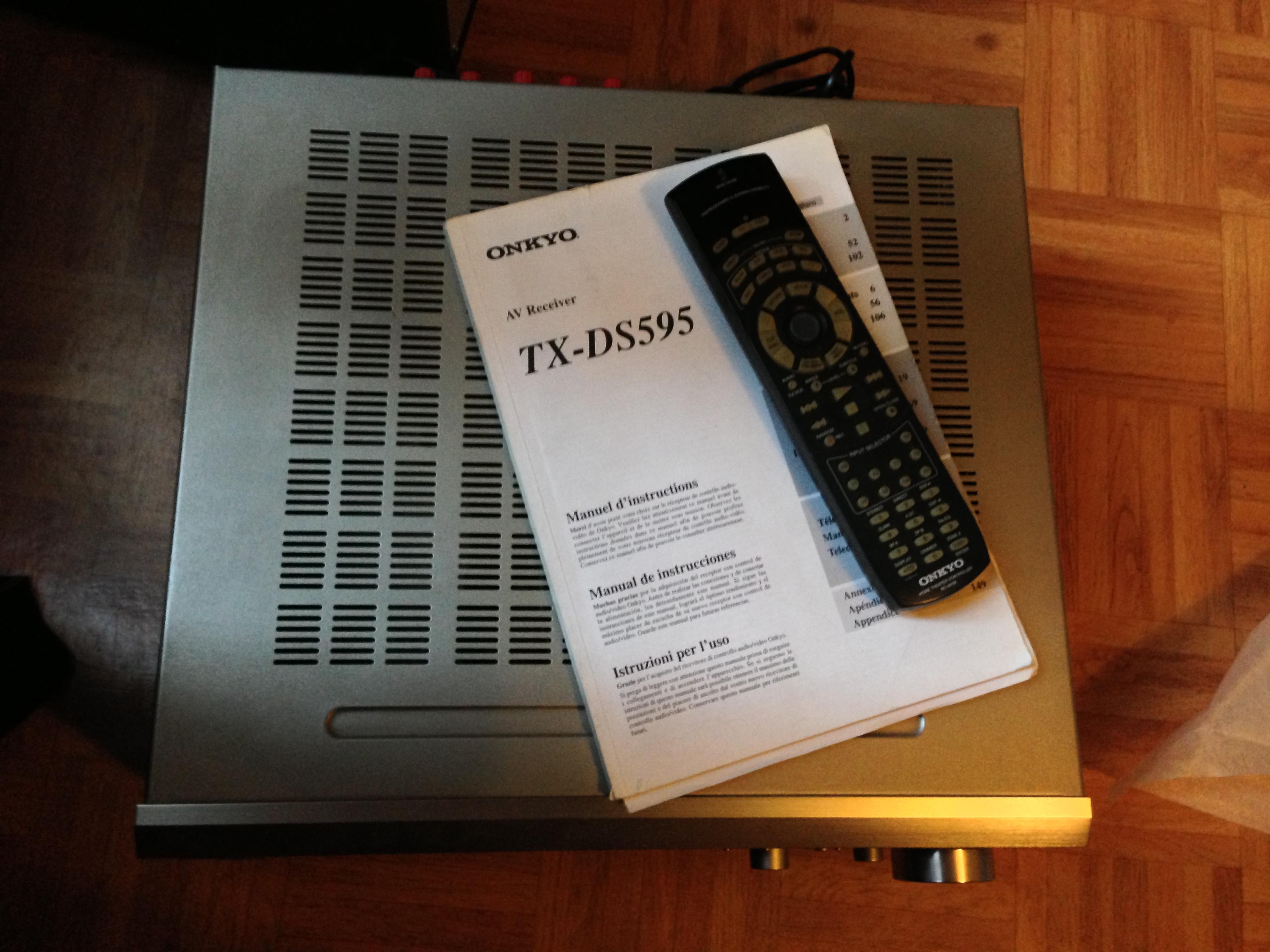 our verdict Array - tx ds595 onkyo tx ds595 audiofanzine rh fr audiofanzine  com