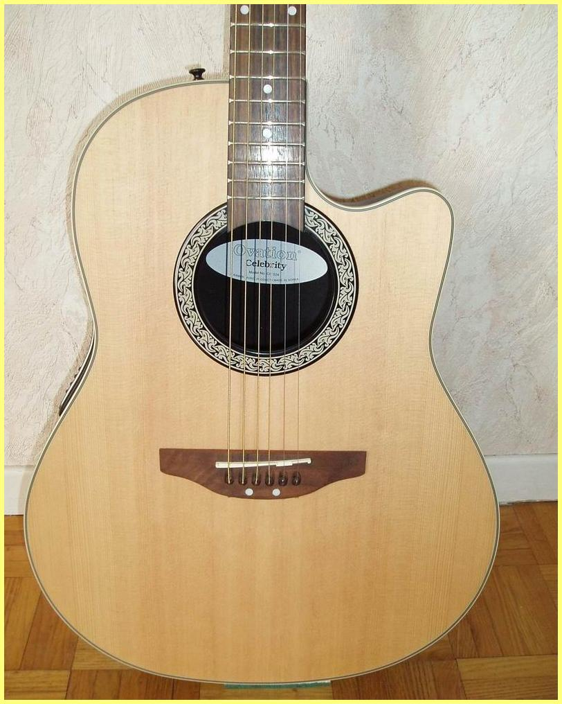 Ovation Celebrity CC024 Electro-acoustic guitar - User ...