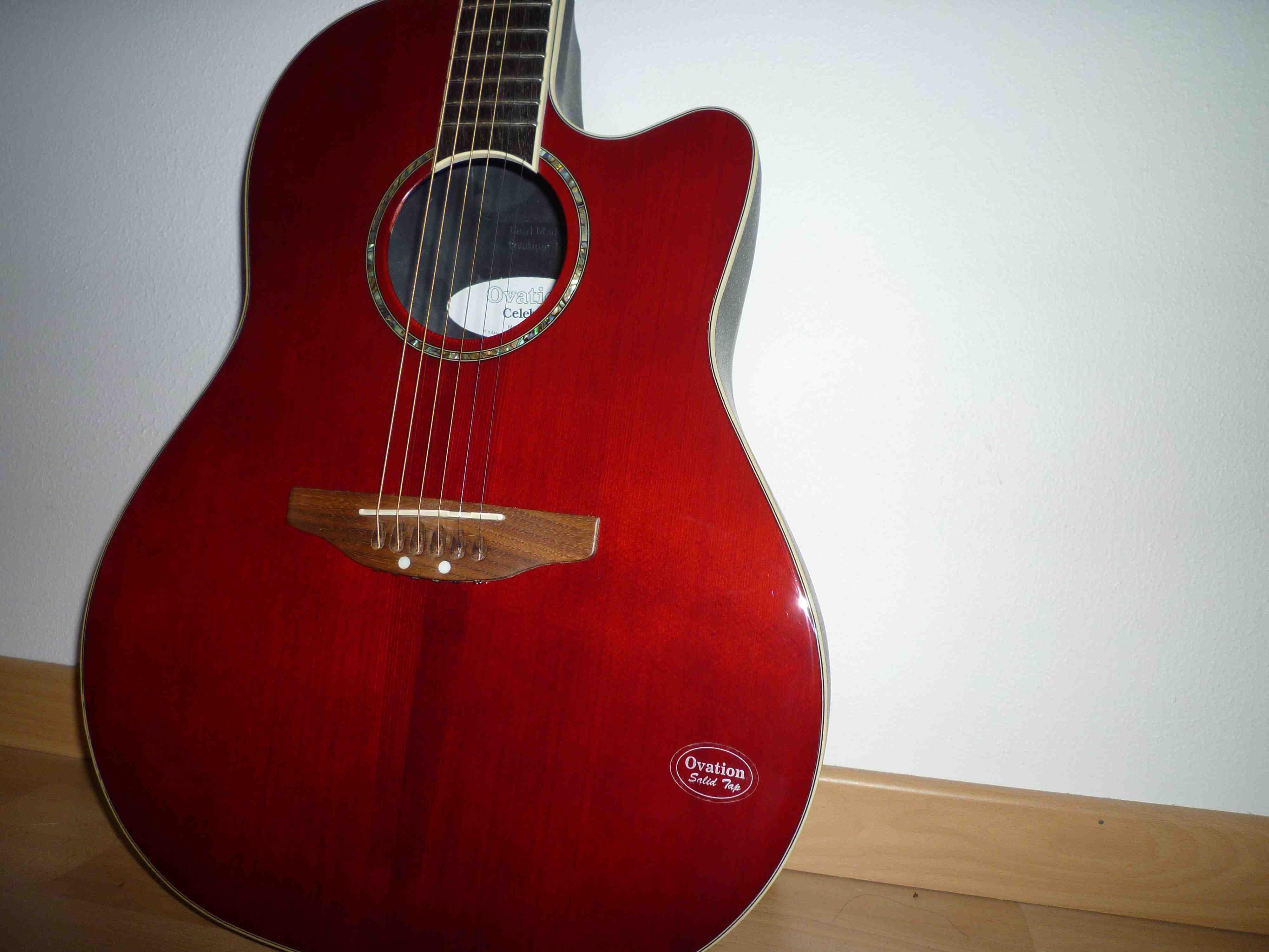 Ovation Celebrity CC24S Acoustic-Electric Guitar | Guitar ...