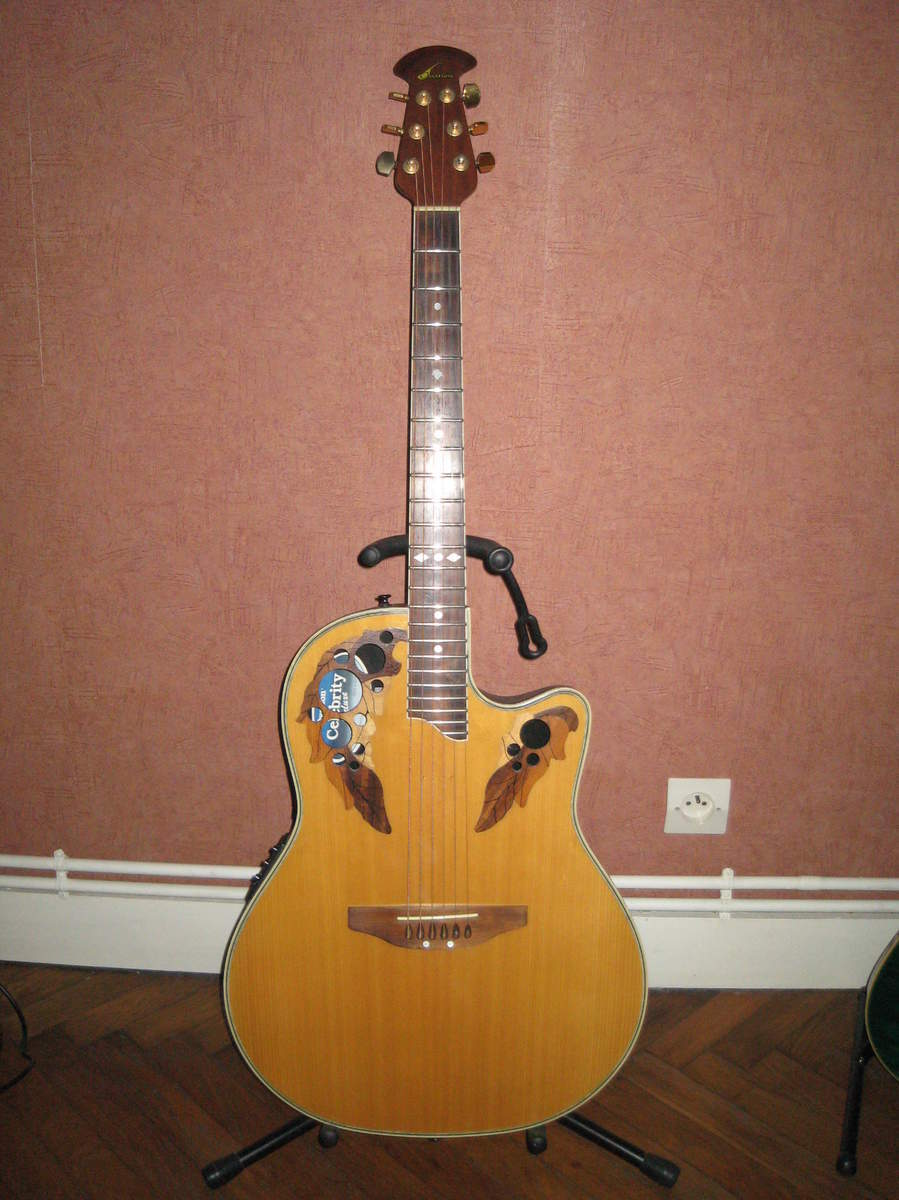 Ovation Celebrity Deluxe CSE44 Acoustic-Electric Guitar ...