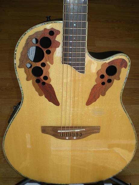 Ovation Celebrity CC44 Acoustic-Electric Guitar | Guitar ...