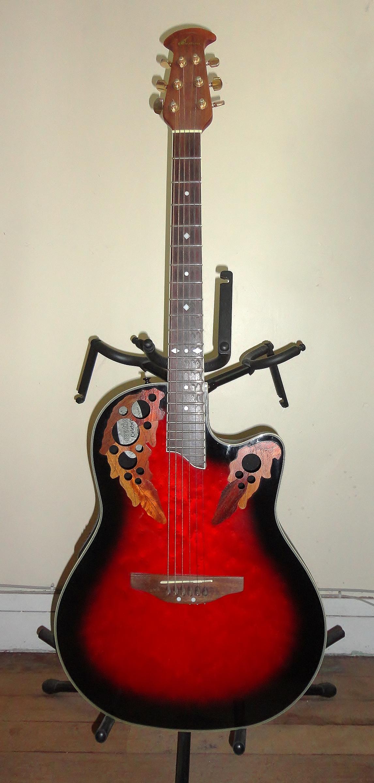 OVATION CELEBRITY DELUXE CS-247 acoustic guitars
