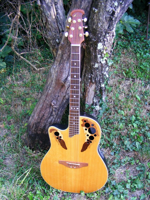 guitare gaucher ovation