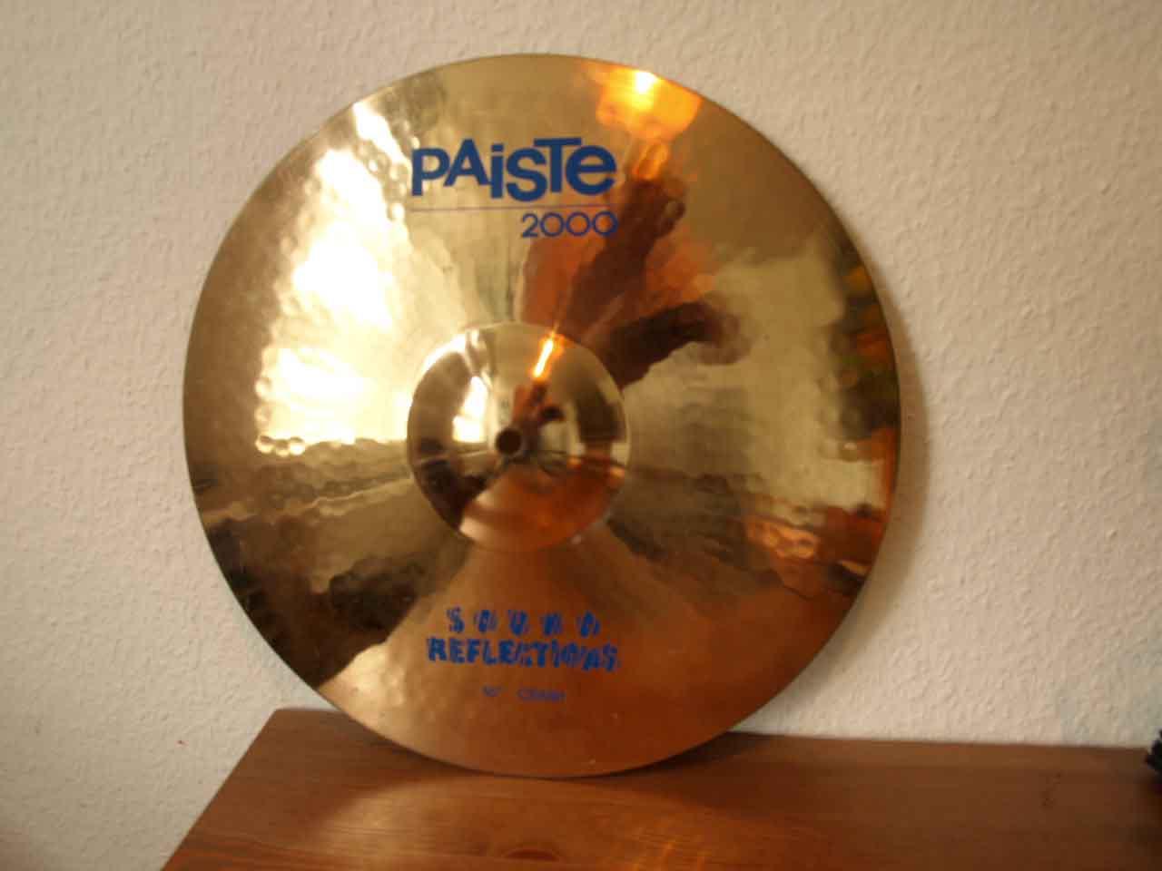 10f6069c5057 2000 Sound Reflections Crash 16   Paiste - Audiofanzine