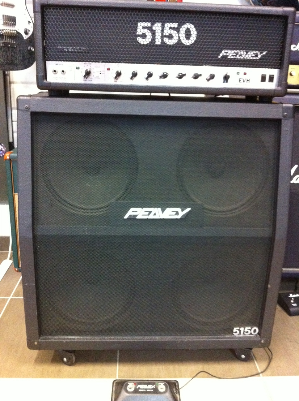 peavey 5150 head image 408240 audiofanzine. Black Bedroom Furniture Sets. Home Design Ideas