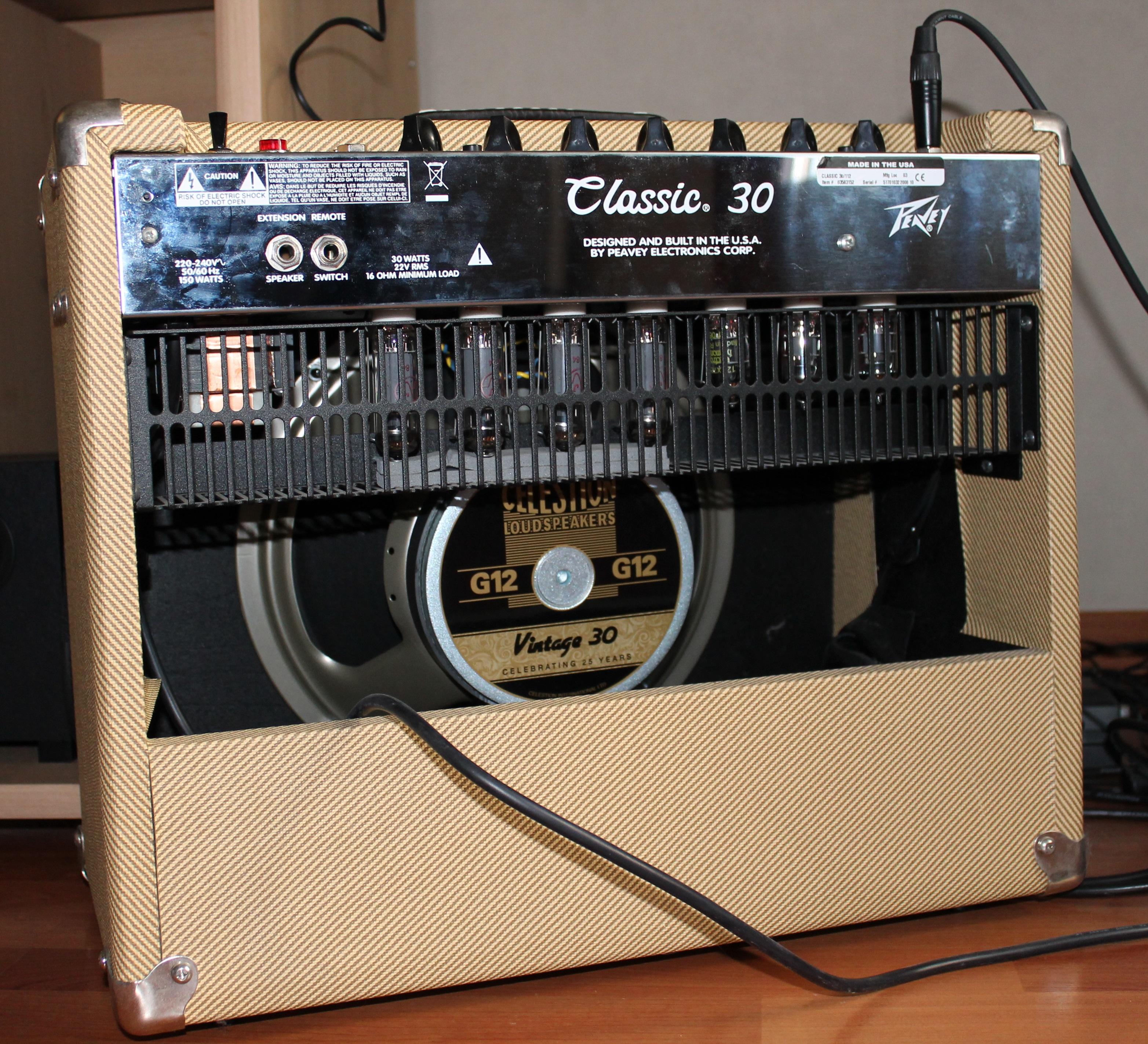 Peavey Classic 30 112 Tweed Image 747027 Audiofanzine