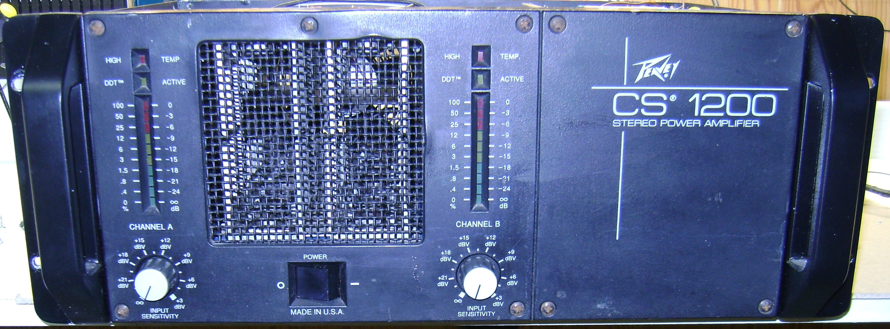peavey cs 1200 image 619513 audiofanzine rh en audiofanzine com Peavey CS 1200 Amplifier Peavey CS 1200 Craigslsit