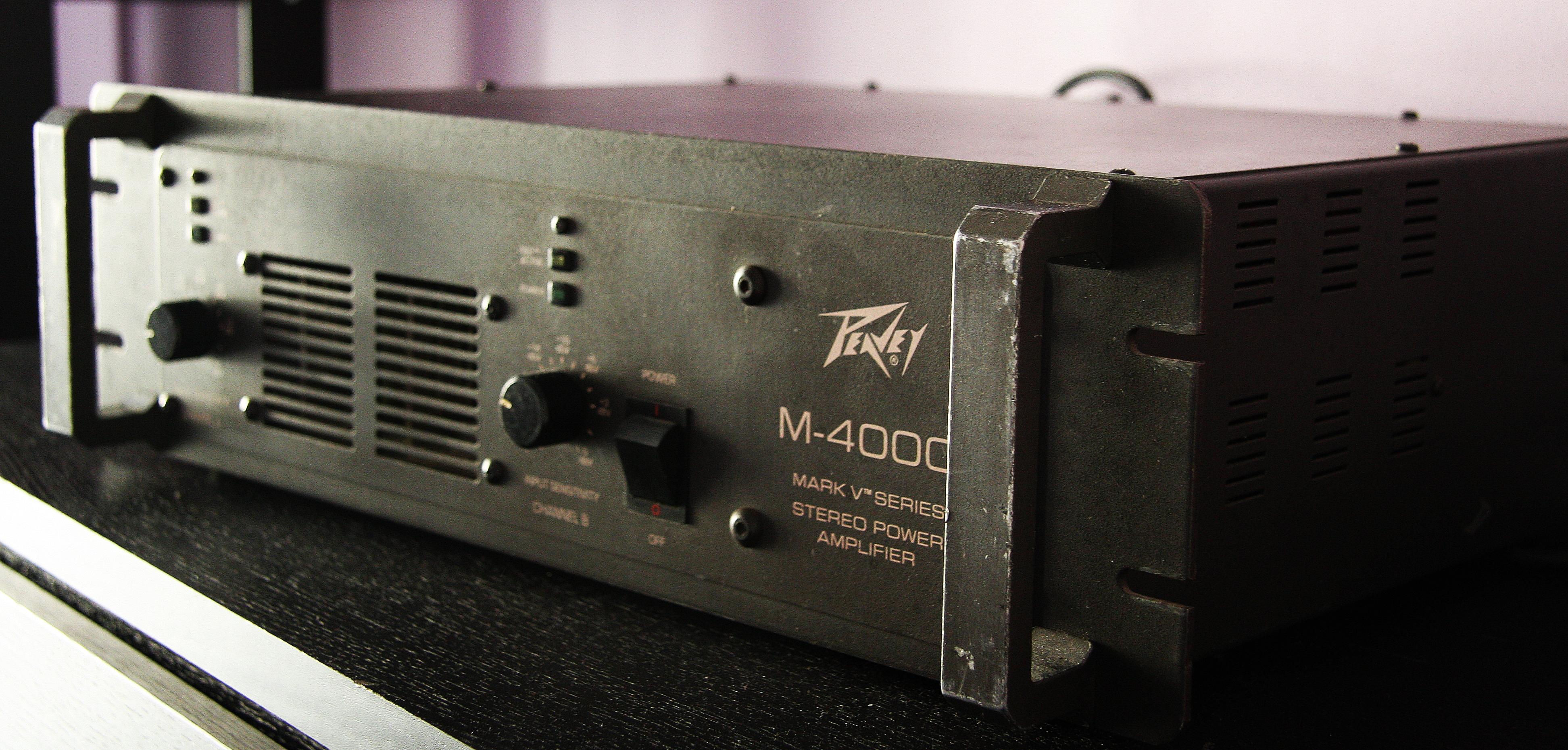 Amplificador Peavey 4000 Wall De Musica P