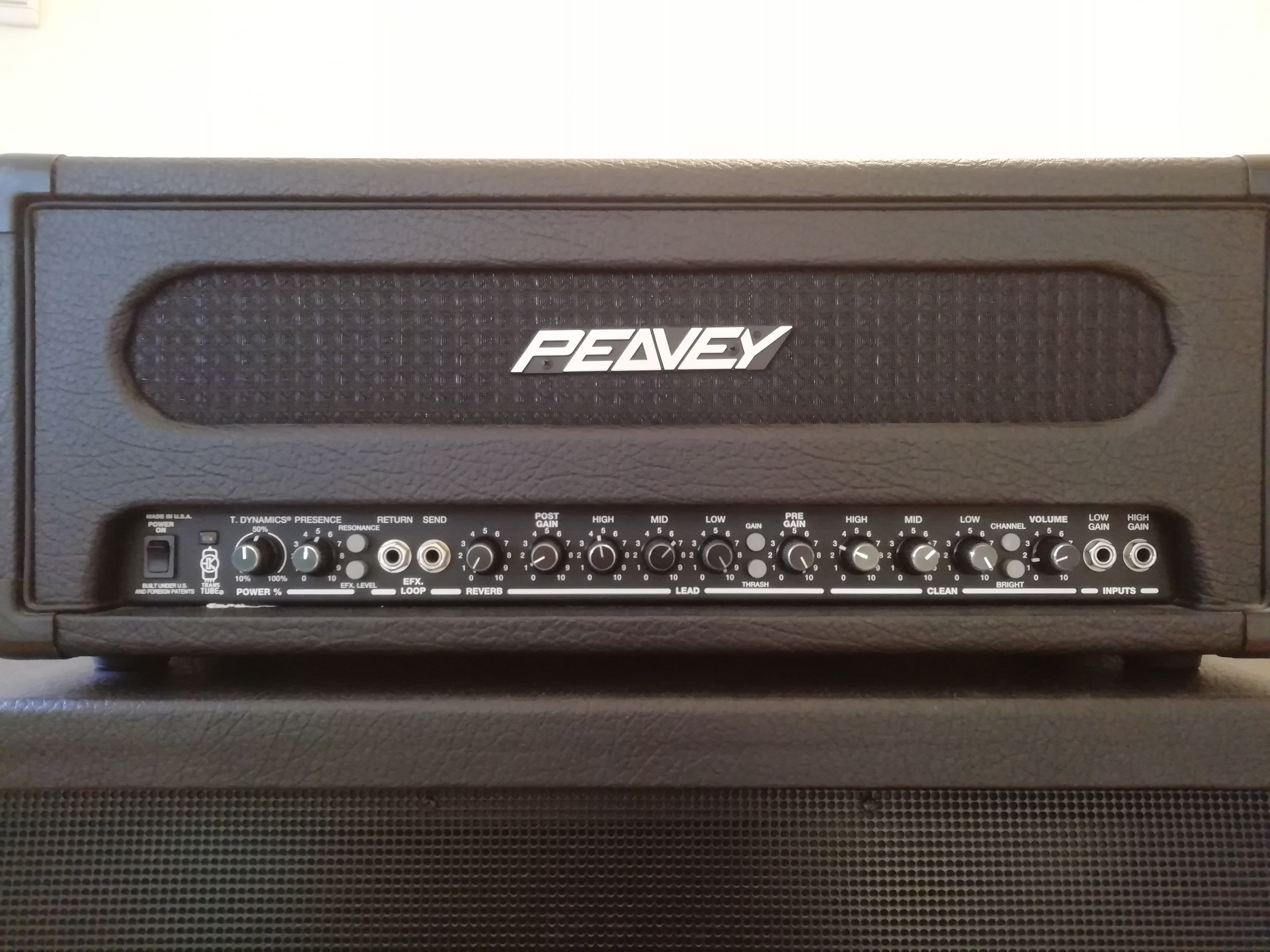 Peavey Supreme Xl 100 Watt Head - Just Me And Supreme