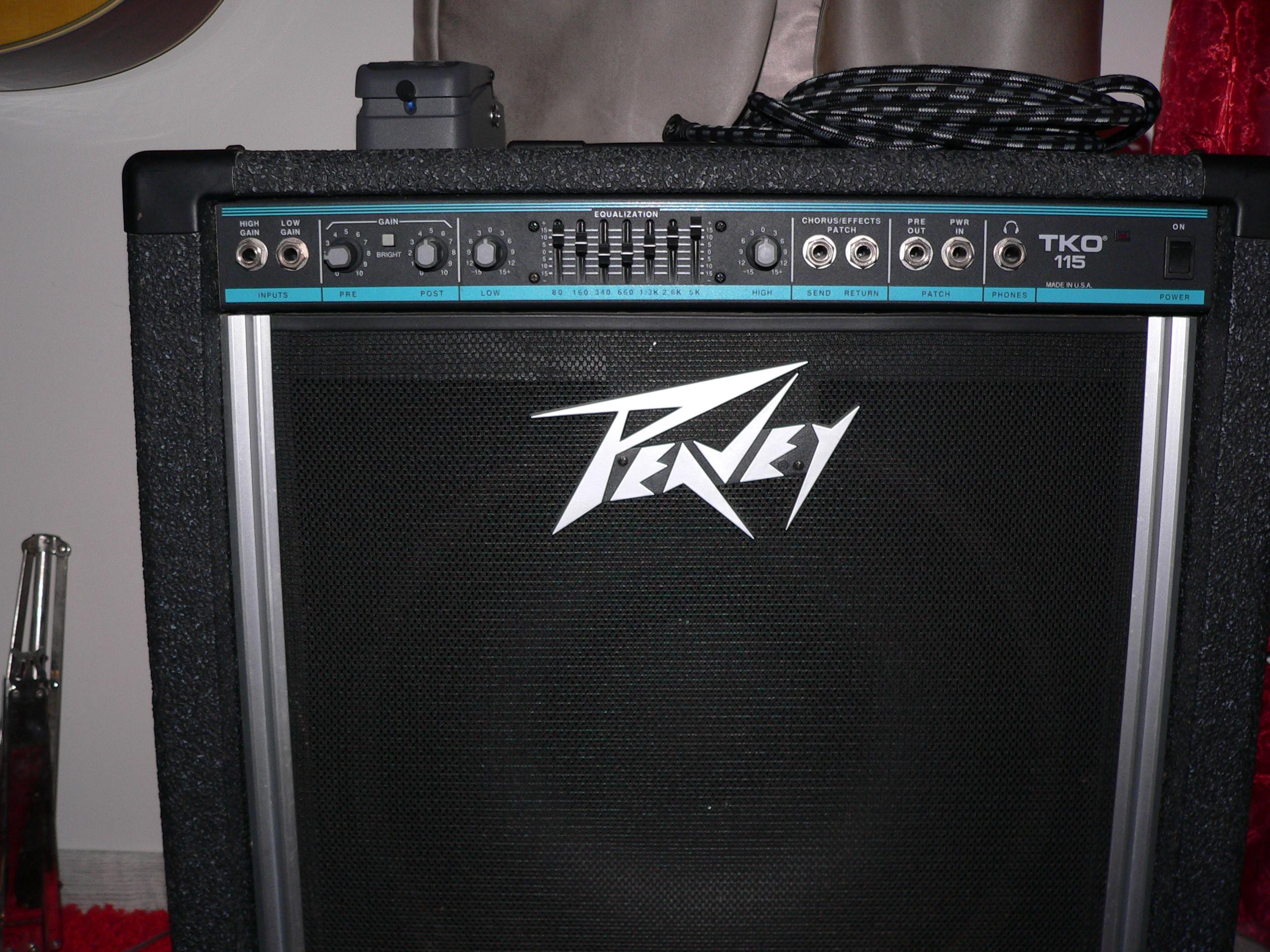 Need some help understanding my amp : Bass