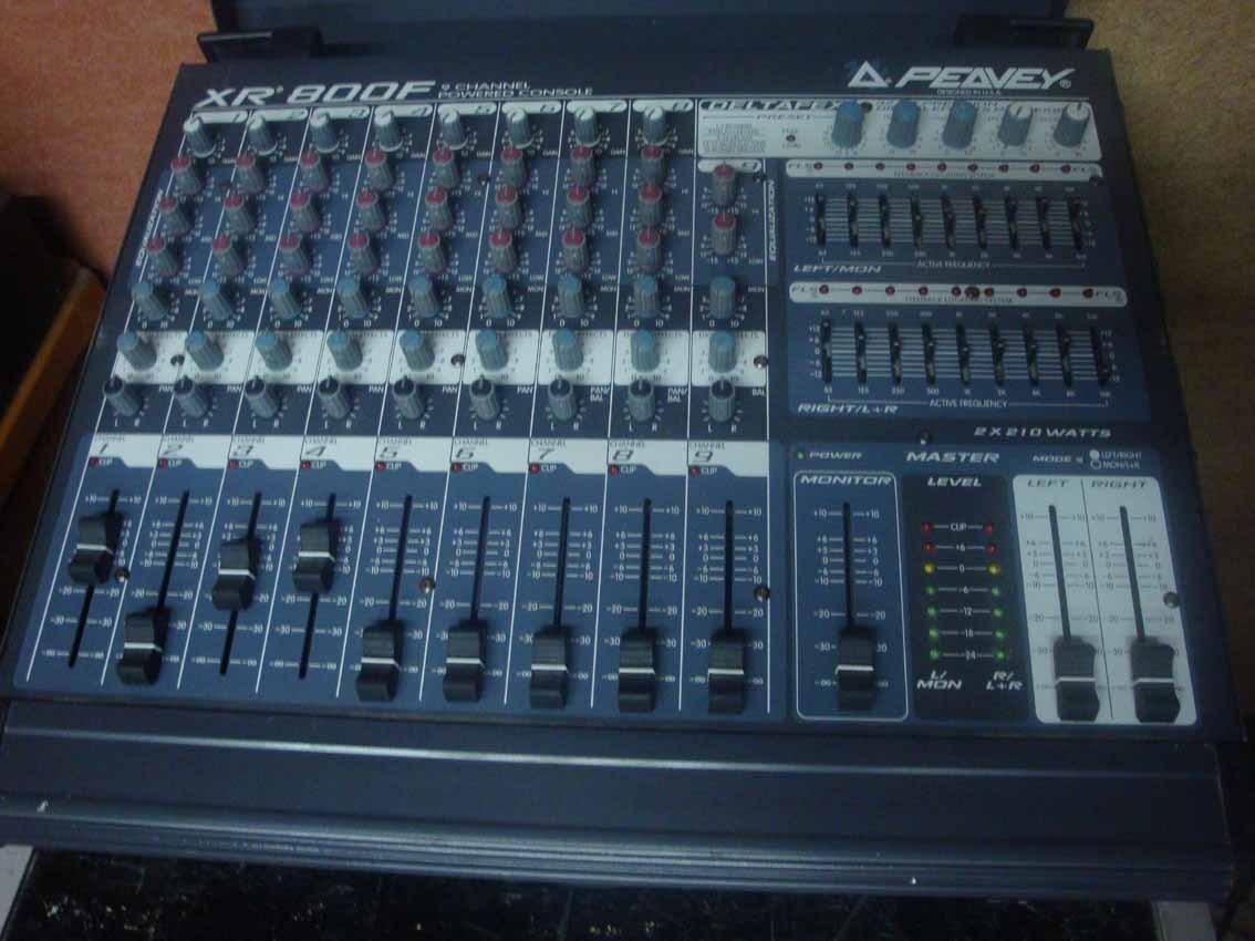 Schematic Peavey Mixer 800 - WIRE Center •