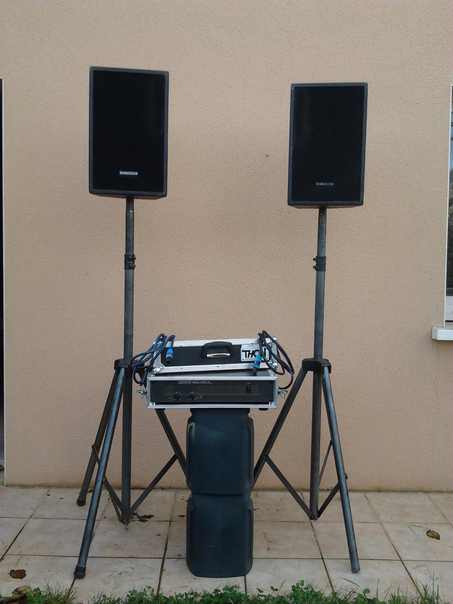 photo phonic max1500 phonic kit sono 521203 audiofanzine. Black Bedroom Furniture Sets. Home Design Ideas