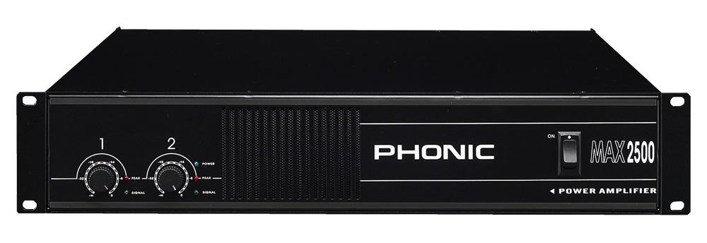 ampli sono phonic max 2500