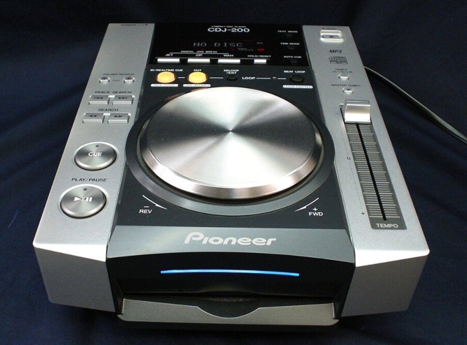 pioneer cdj 200 image 44378 audiofanzine. Black Bedroom Furniture Sets. Home Design Ideas