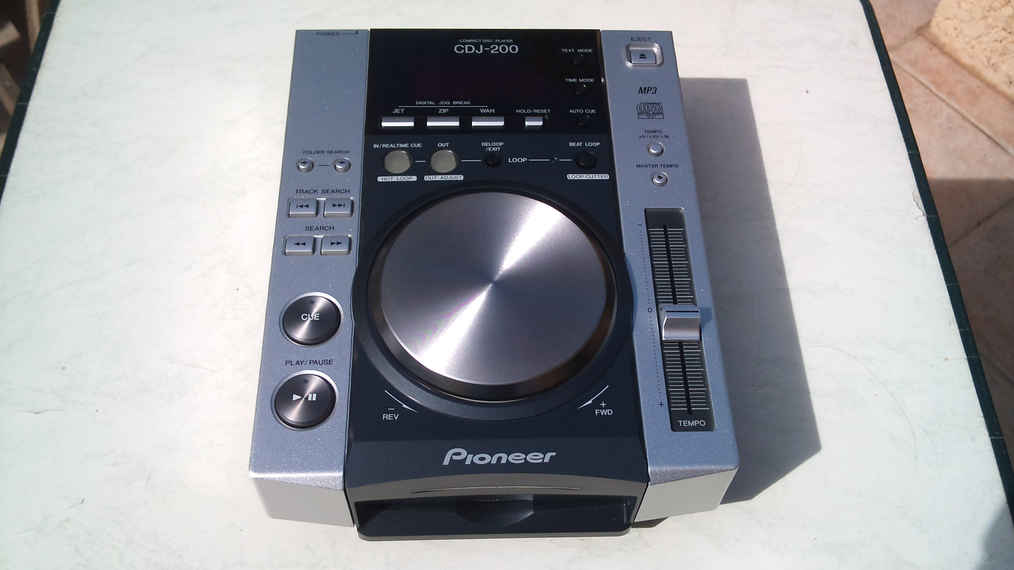 pioneer cdj 200 image 623579 audiofanzine. Black Bedroom Furniture Sets. Home Design Ideas