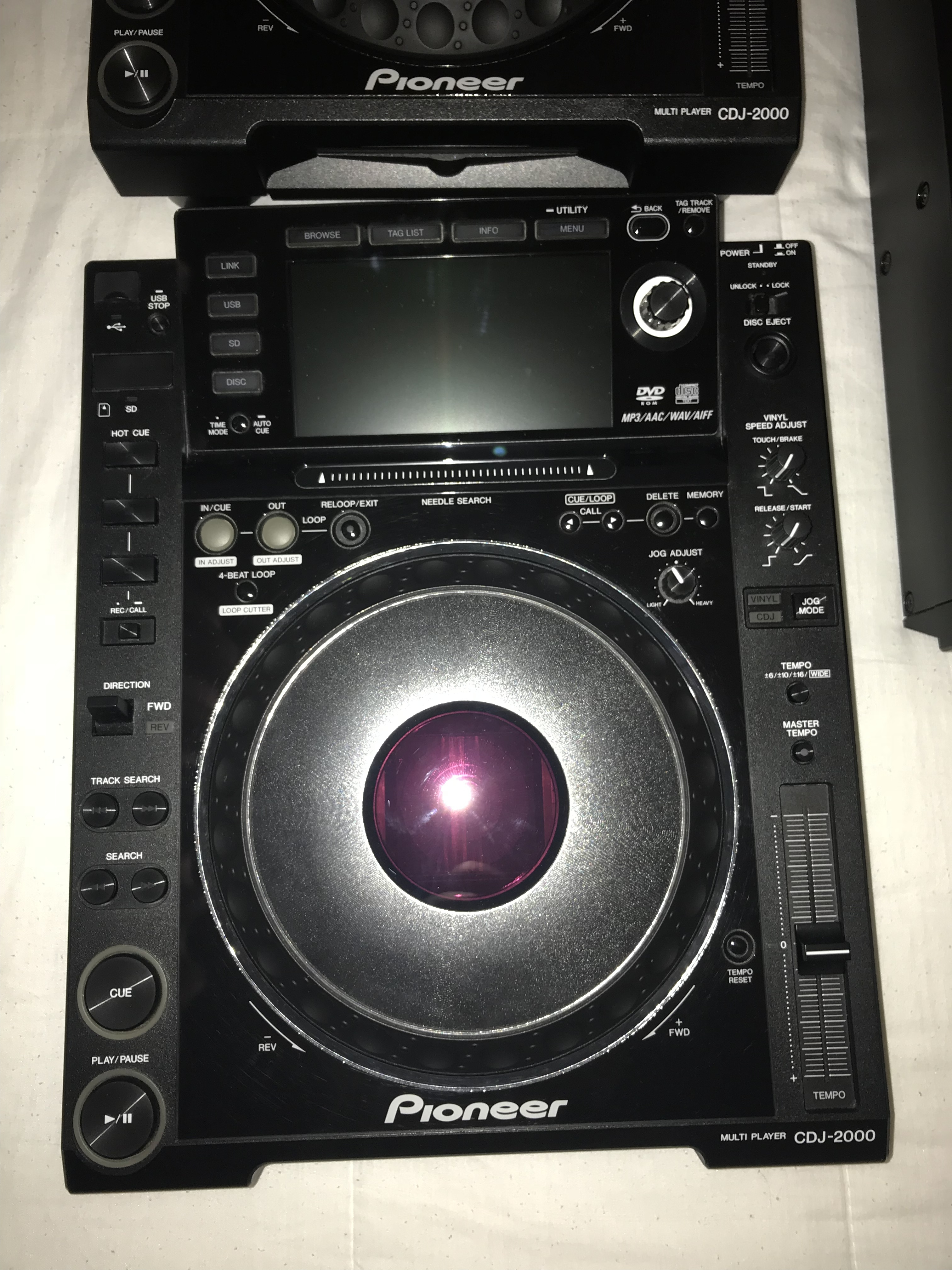 pioneer cdj 2000 image 2001102 audiofanzine. Black Bedroom Furniture Sets. Home Design Ideas