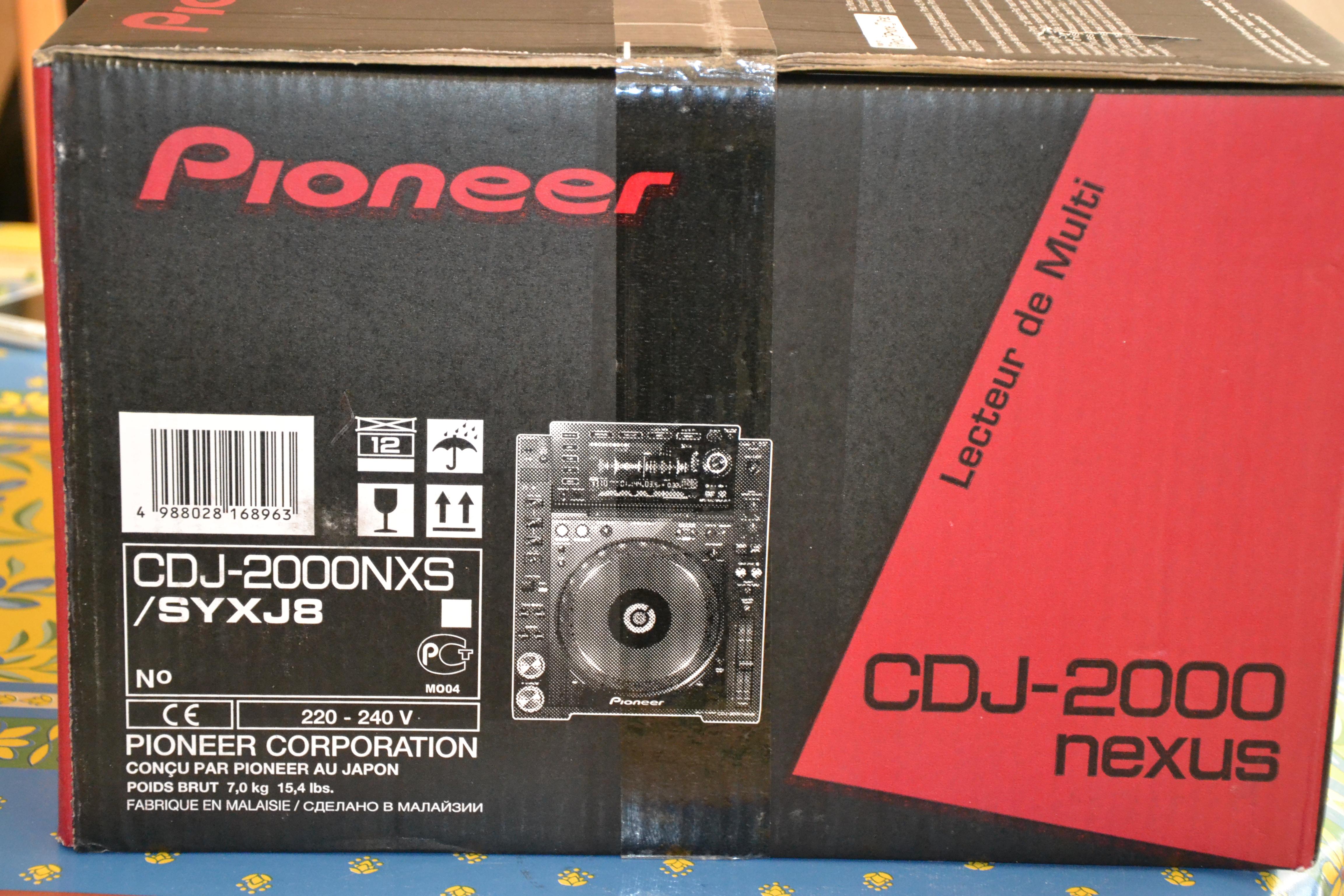 pin pioneer cdj 2000 - photo #41