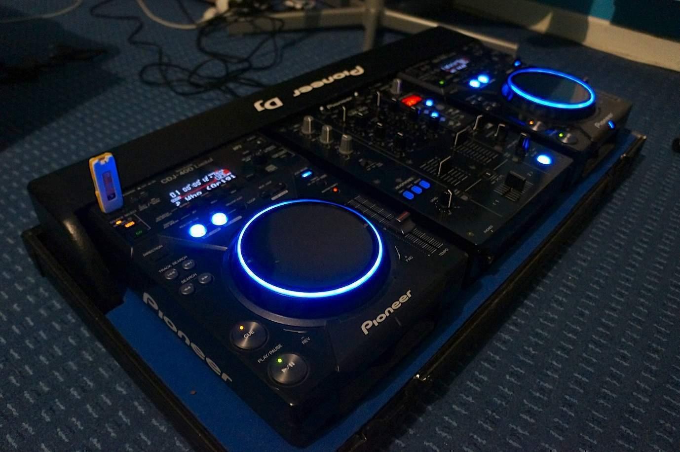 table de mixage pioneer occasion