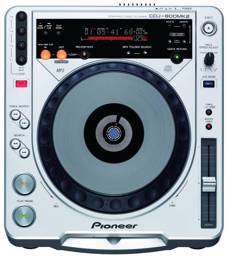 Pioneer Cdj 800 Mk2 Image 251410 Audiofanzine
