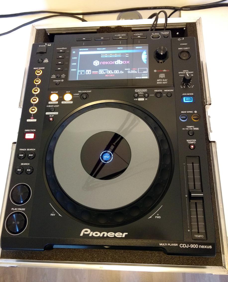 pioneer cdj 900 nexus platine cd mp3 contr leur dj. Black Bedroom Furniture Sets. Home Design Ideas