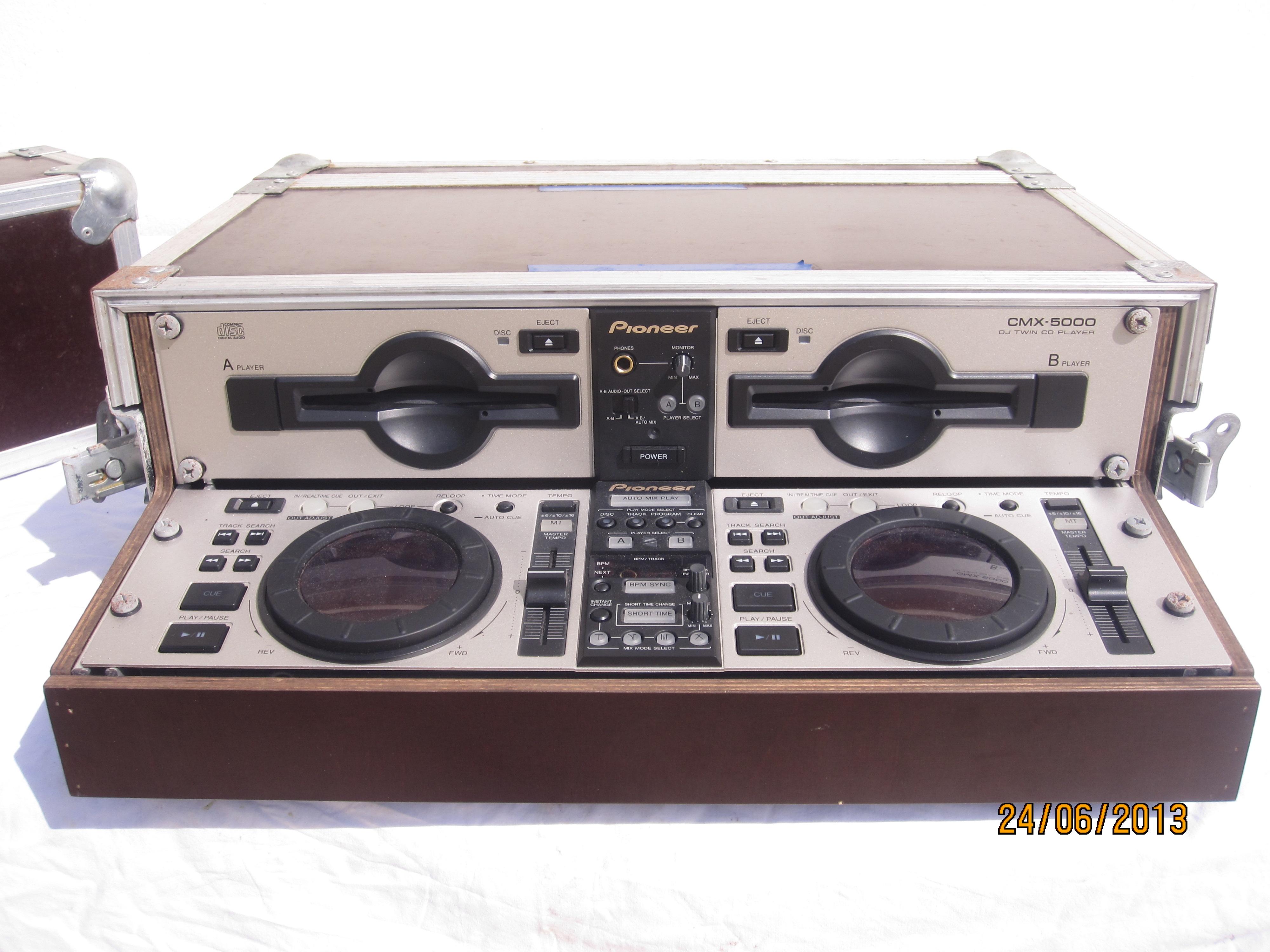 double lecteur cd pioneer cmx 5000 ile de france. Black Bedroom Furniture Sets. Home Design Ideas
