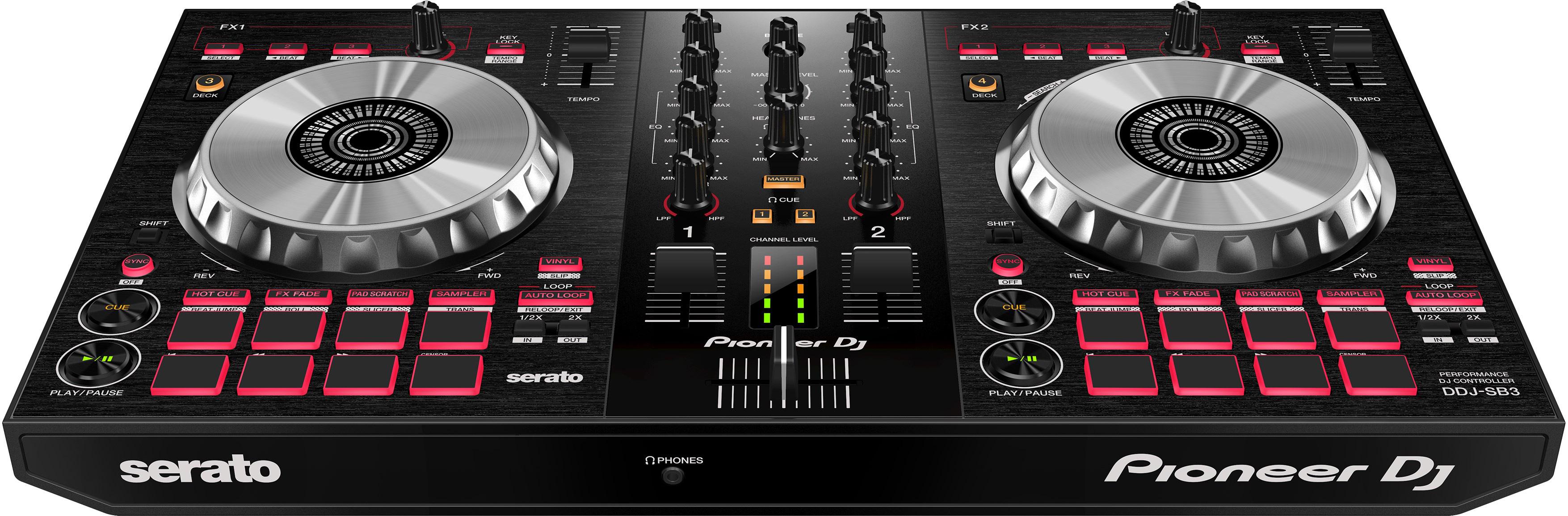 Ddj Sb3 Pioneer Ddj Sb3 Audiofanzine