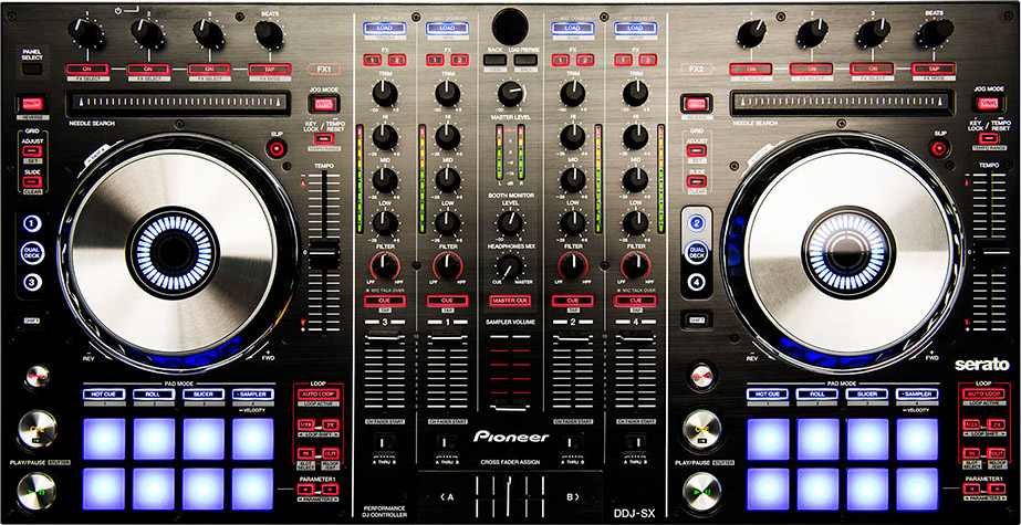 news serato dj et pioneer ddj sx audiofanzine. Black Bedroom Furniture Sets. Home Design Ideas