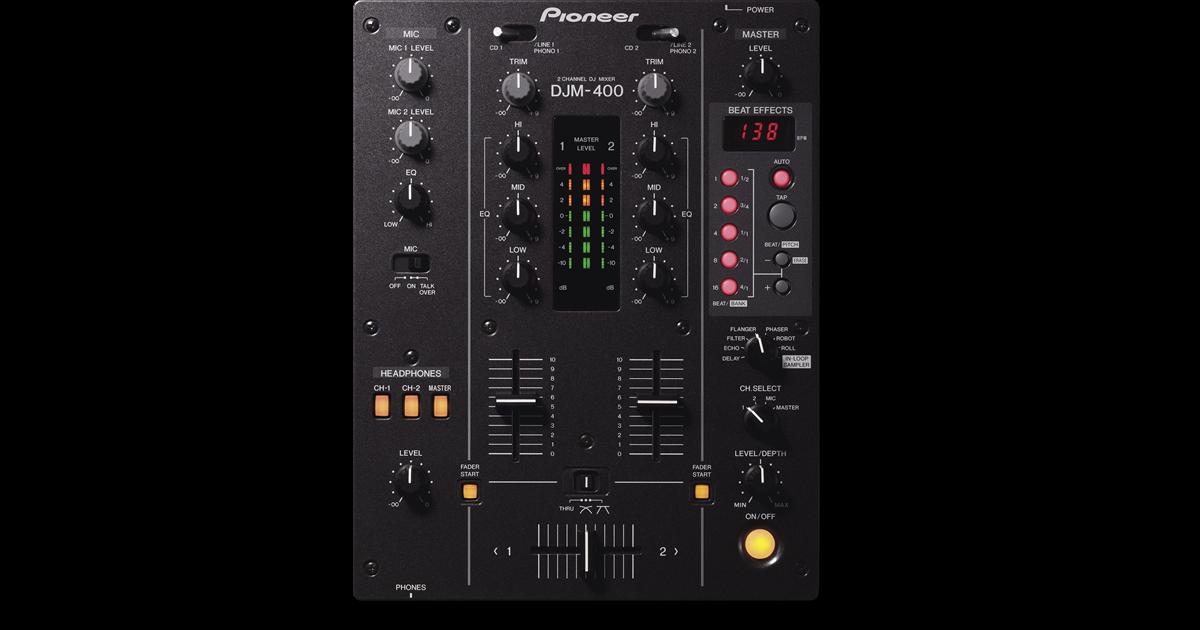 Vend table de mixage pioneer djm 400 rh ne alpes - Table de mixage pioneer occasion ...