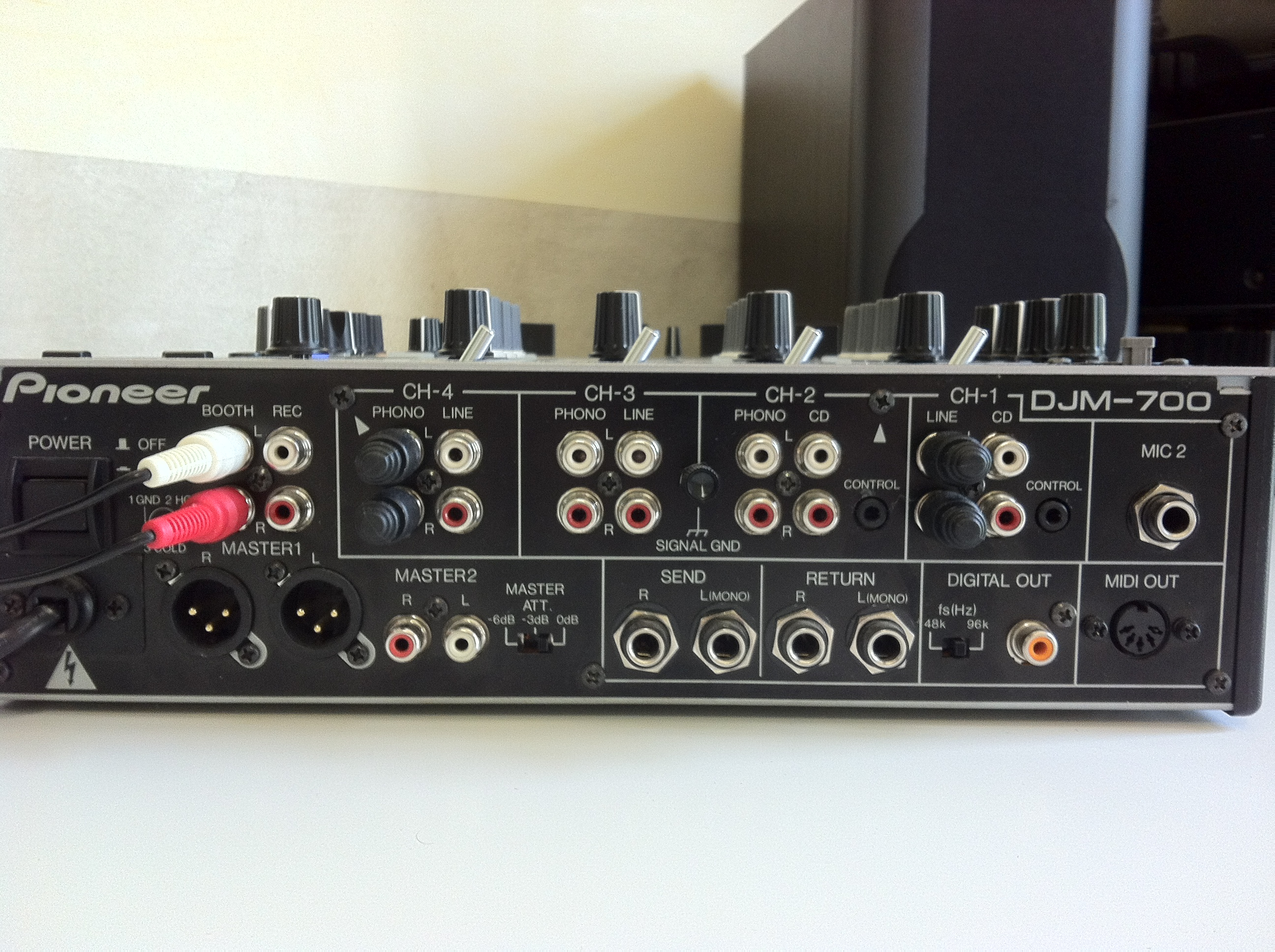 table de mixage djm 700