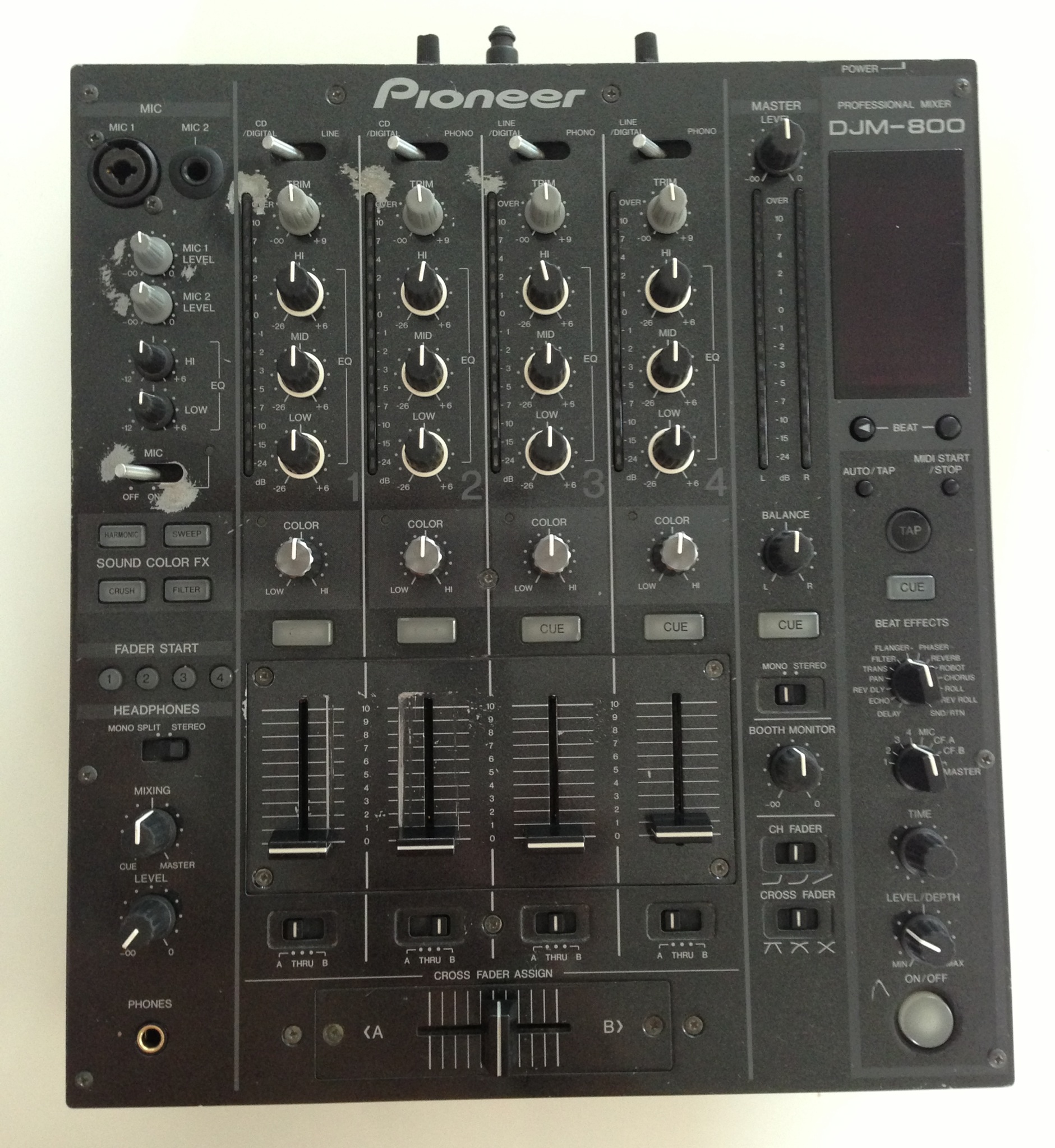 Achat pioneer djm 800 d 39 occasion audiofanzine - Table de mixage pioneer occasion ...