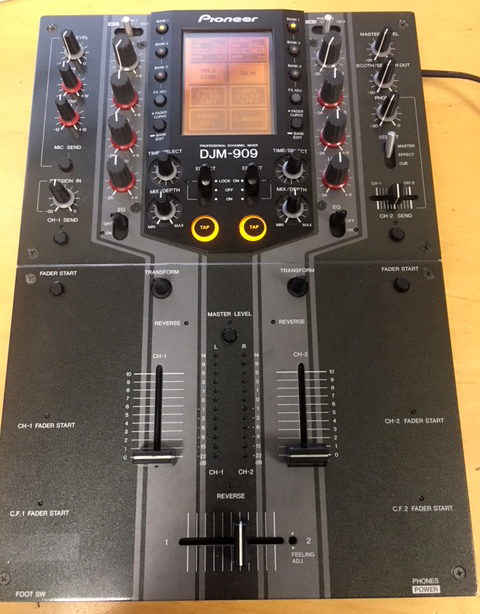 table de mixage pioneer 909