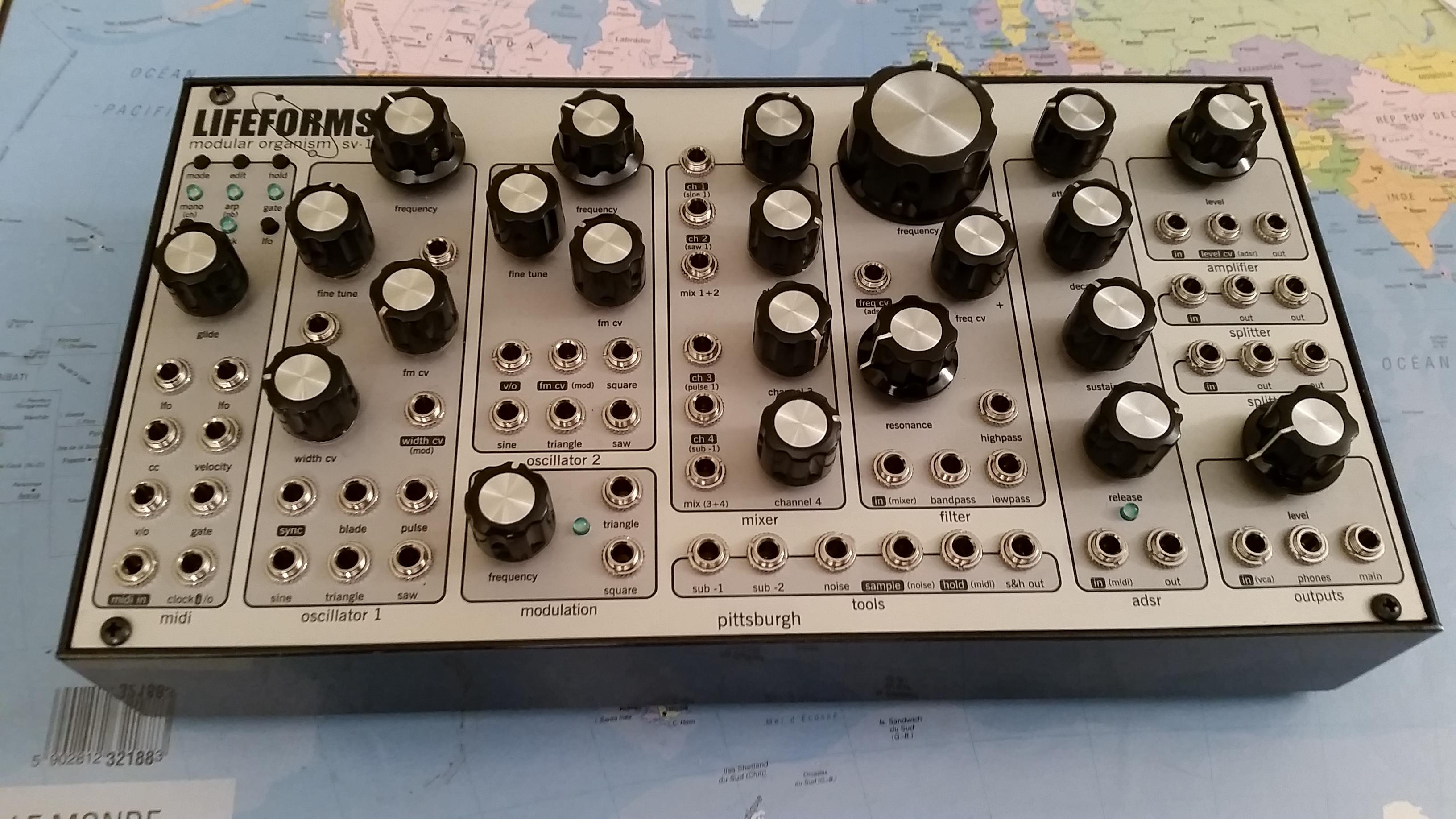 Pittsburgh Modular Lifeforms : lifeforms sv 1 pittsburgh modular lifeforms sv 1 audiofanzine ~ Russianpoet.info Haus und Dekorationen