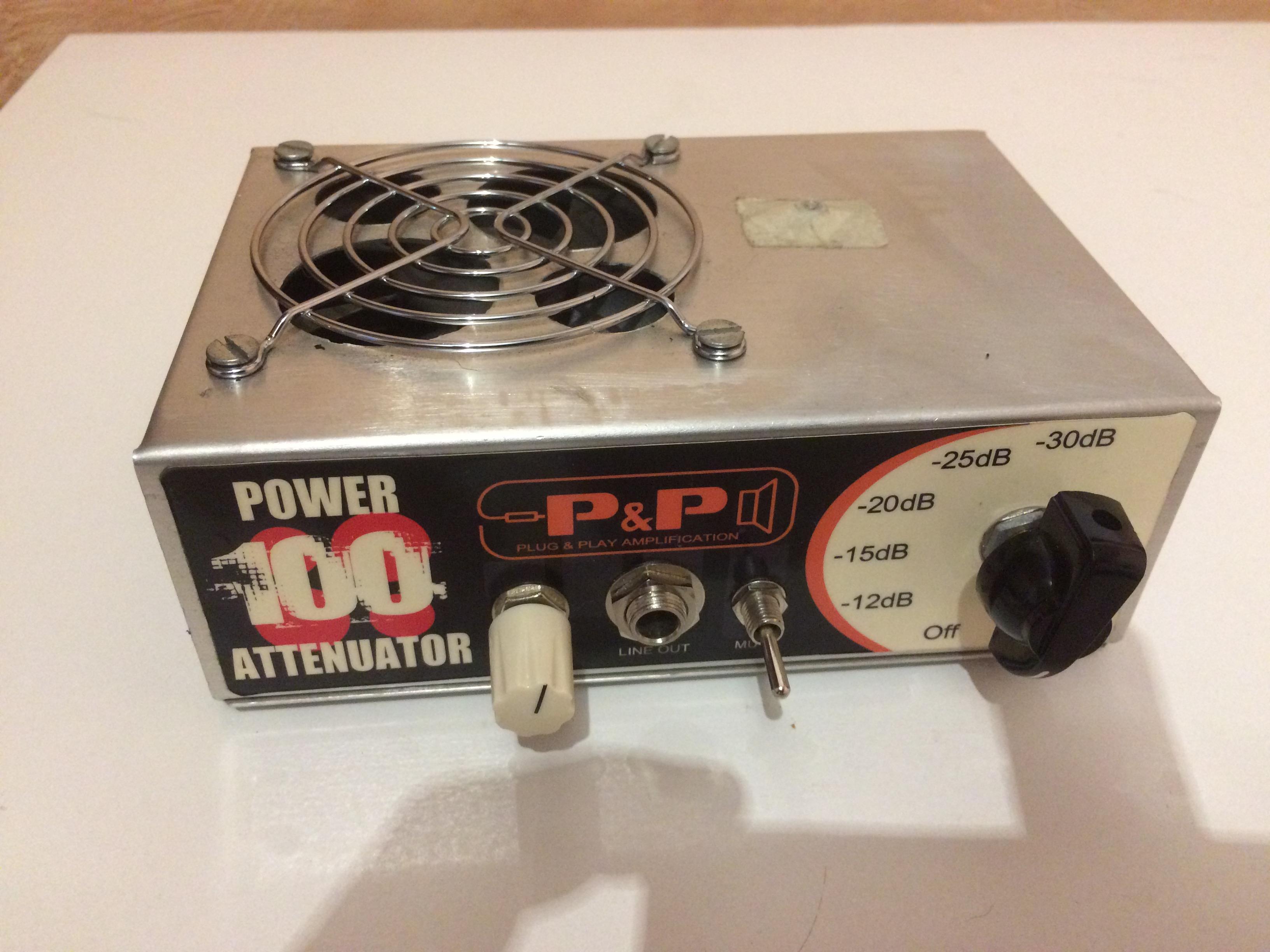 plug play amplification power attenuator 100 image 1817360 audiofanzine. Black Bedroom Furniture Sets. Home Design Ideas